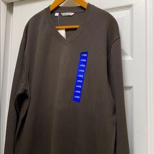 Cutter & Buck Men's vneck pullover 💯 cotton